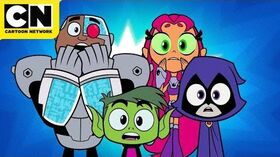 Teen Titans GO! All About the 80s Cartoon Network