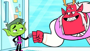 Beast boy and trigon