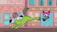 Jinx gets kicked