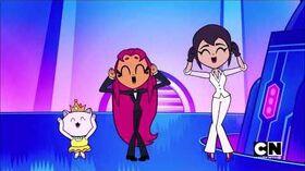 Teen Titans Go! - Agent 000 000 7 (Starfire) (Season 5, Episode 23)