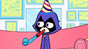 Raven Birthday Greeting