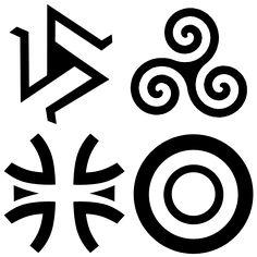Werewolf Pack Symbols