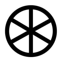 Symbols sun wheel