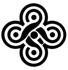 Symbols five fold knot 1