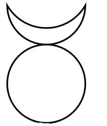 Symbols horned god