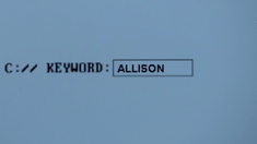 4x04 KEYWORD ALLISON