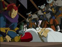 Teenage-mutant-ninja-turtles-season-2-25-the-big-brawl-part-3-splinter-accused-assassination-ultimate-ninja-daimyo-tmnt-2003