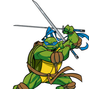 Leonardo Splinterson Gallery Teenage Mutant Ninja Turtles 2003 Series Wiki Fandom