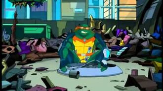 TMNT S06E15 Graduation Day, Class of 2105