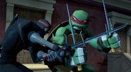 Foot Bot Versus Raphael