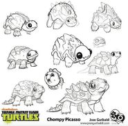 Chompy Picasso Concept Art