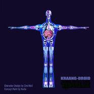 Blue Kraangdroid Concept Art