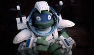 Leonardo's Space Helmet