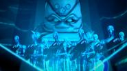 Kraang Prime And Kraang Hologram