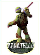Teenage Mutant Ninja Turtles 2012 Donatello