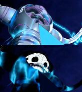 Kraang Prime Getting Electrocuted