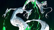 2D Serpent Karai Coming Out From Mutagen