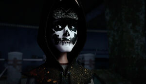 Casey With Hoodie And Make-Up
