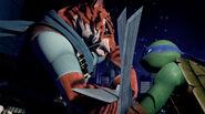 Leonardo Versus Tiger Claw