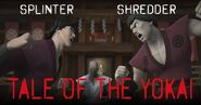 Tale Of The Yokai Shredder Splinter