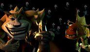 TMNT 2012 Dogpound, Shredder, and Fishface