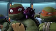 Chompy Cuddling At Raphael