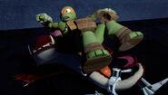Michelangelo Fell On Top Of Fishface