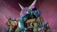 Mona And Raph Kiss End Of The War For Dimension X