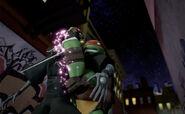 Raphael Versus Foot Bots