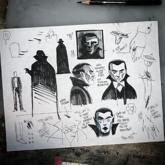 Count Dracula Concept Art
