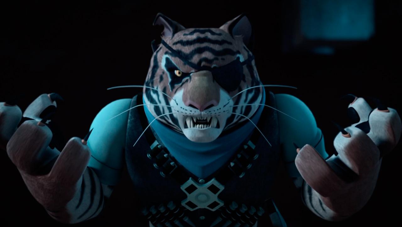 Tiger Claw Tmnt