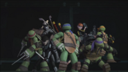 Turtles April Serpent Karai And Casey Ready For Combat