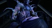 Super Shredder About To Stomp Shini