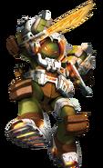 Dimension X Michelangelo Render