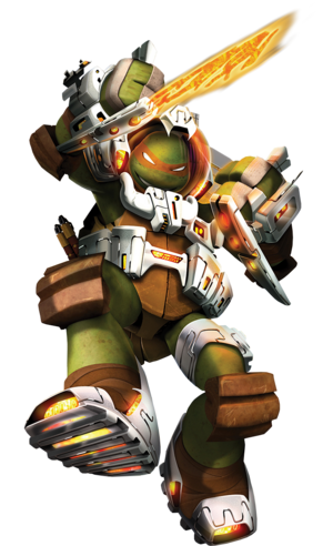 Dimension X Michelangelo Render