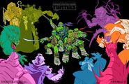 Tales Of The TMNT Artwork Ciro Nieli
