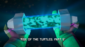 Rise Of The Turtles Part Two Title Scene