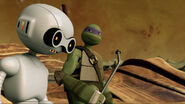 Fugitoid Acknowledging Donatello's Plan
