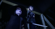Karai And Shini About To Confront Super Shredder