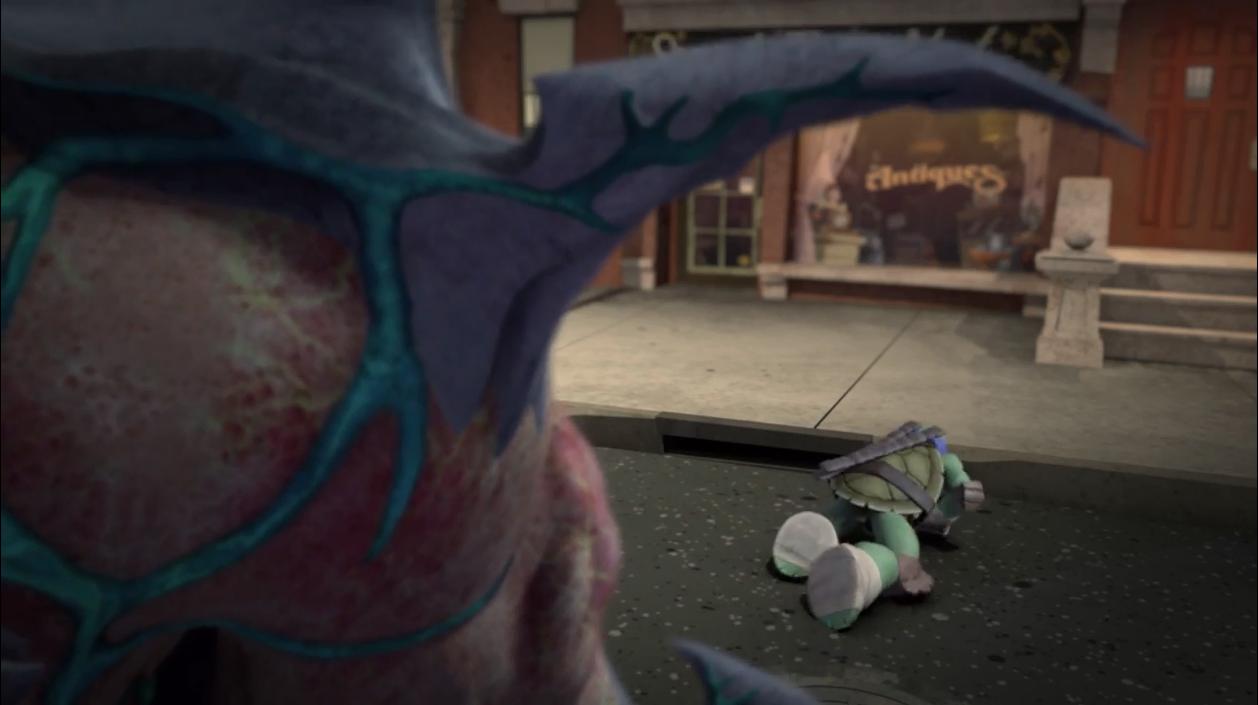 Image - Leonardo Crawling Away Hurt.png | Teenage Mutant Ninja Turtles 2012 Series Wiki | FANDOM