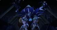 Karai And Shini Vs Super Shredder