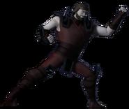 Chris Bradford Armor Without Helmet Profile