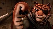 Tiger Claw Blocking Karai's Attacks
