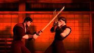 The Fight Between Saki And Yoshi