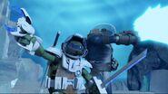 Leonardo with Sal Commander