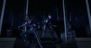 Karai And Shini Ready To Attack Super Shredder