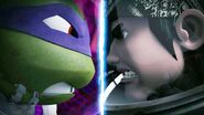 Dimension X Donatello And Dimension X Casey Jones