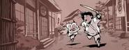 2D Young Yoshi And Saki
