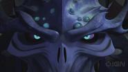 Super Shredder Opens His Eyes