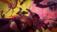 Ninja Turtles Fugitoid Casey Jones April O'Neil And Zanmoran Crashing